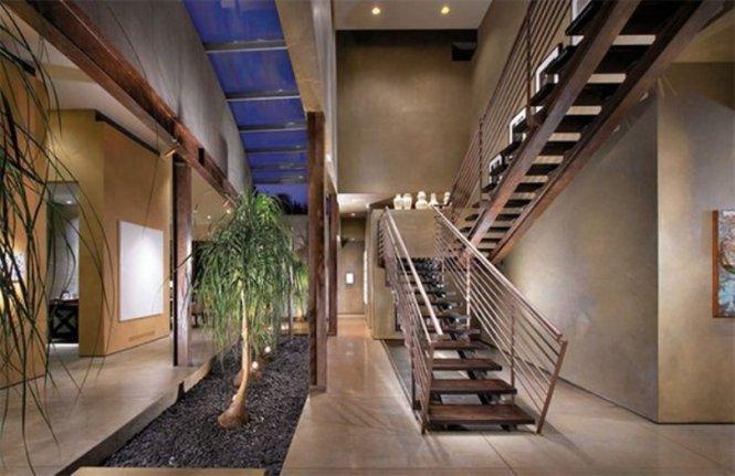 Indoor Garden Hallway