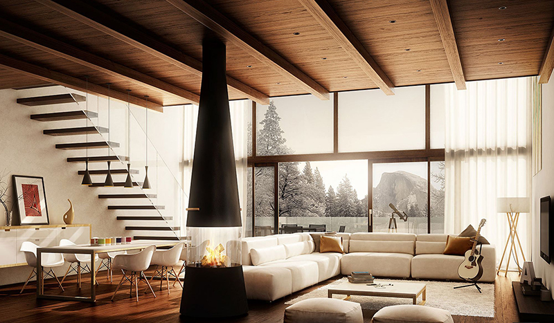 Intimate Get Togethers Living Room