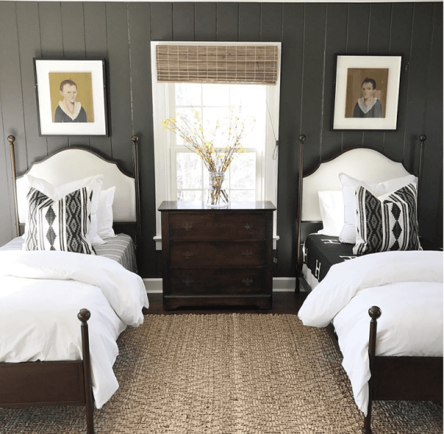 Oceanside Town Inspired Guest Room