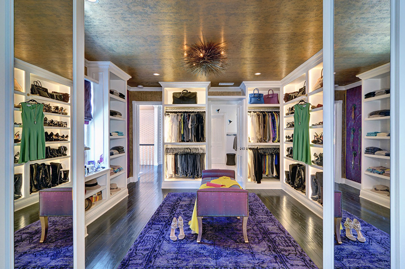 Sophisticated Walk In Closet
