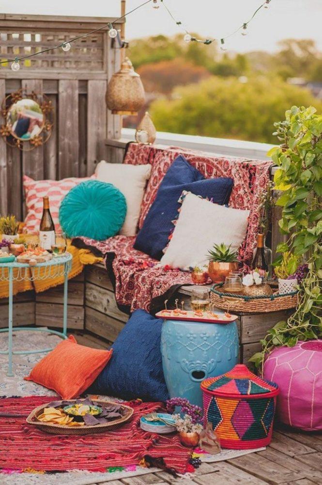 Super Colorful Moroccan Patio