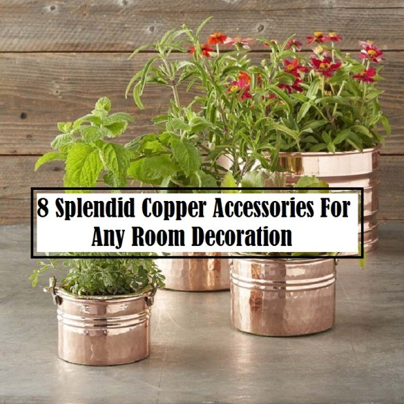8 Splendid Copper Accessories For Any Room Decoration