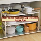 8 Under The Sink Organizer To Keep Your Kitchen Neat And Clean