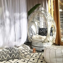Bohemian Meditation Room