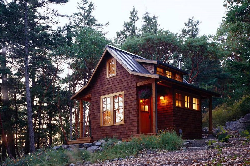 Craftsman Inspired Cabin