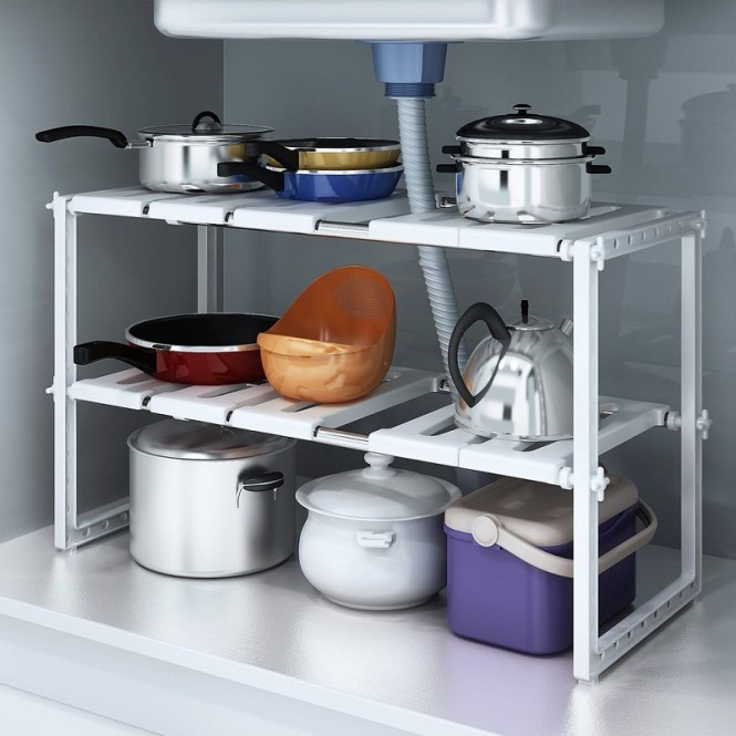 Expandable Kitchen Storage