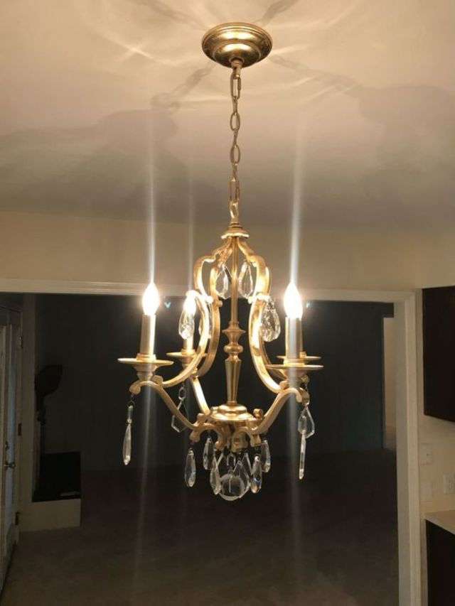 Feel Free To Apply Vintage Chandelier