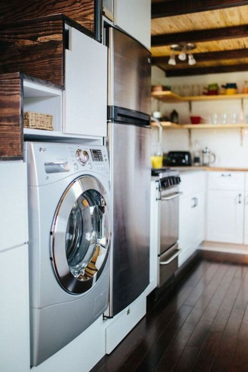 A Washer And Dryer Combo Unit