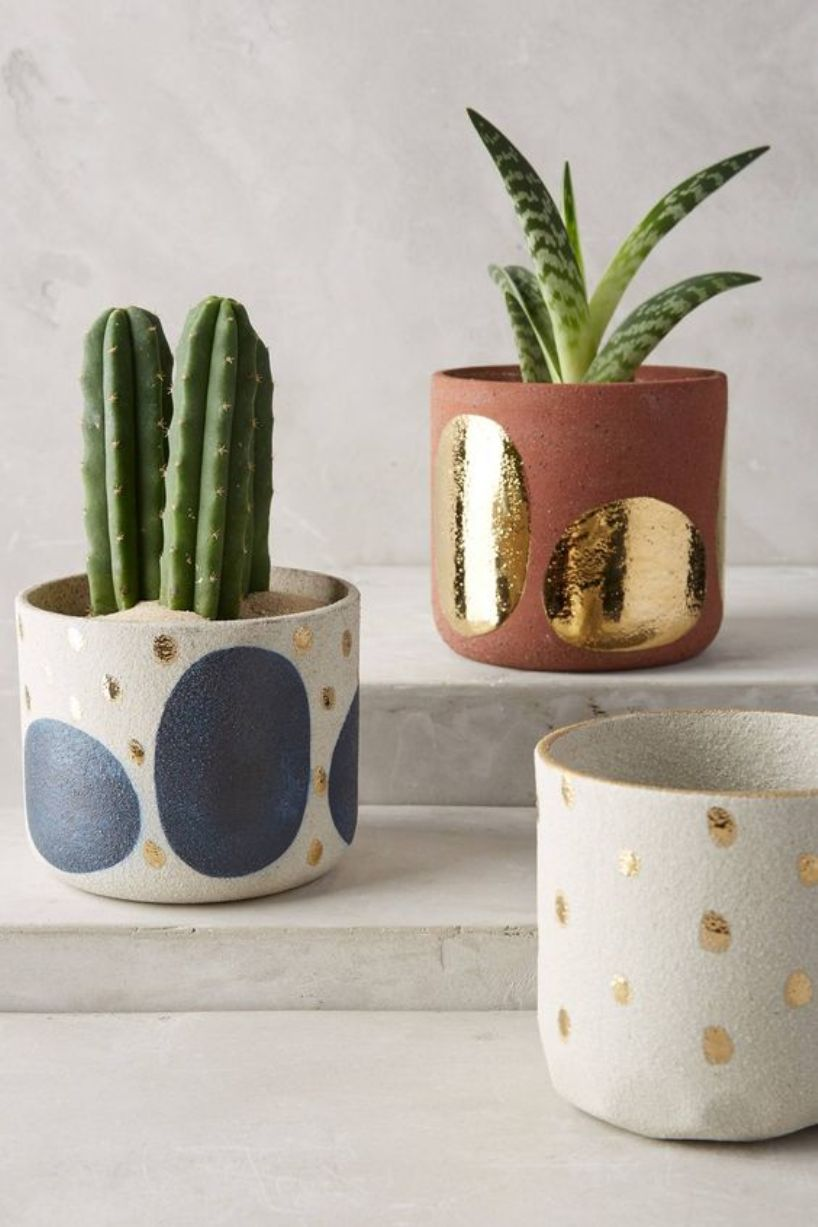 Abstract Spotted Pots