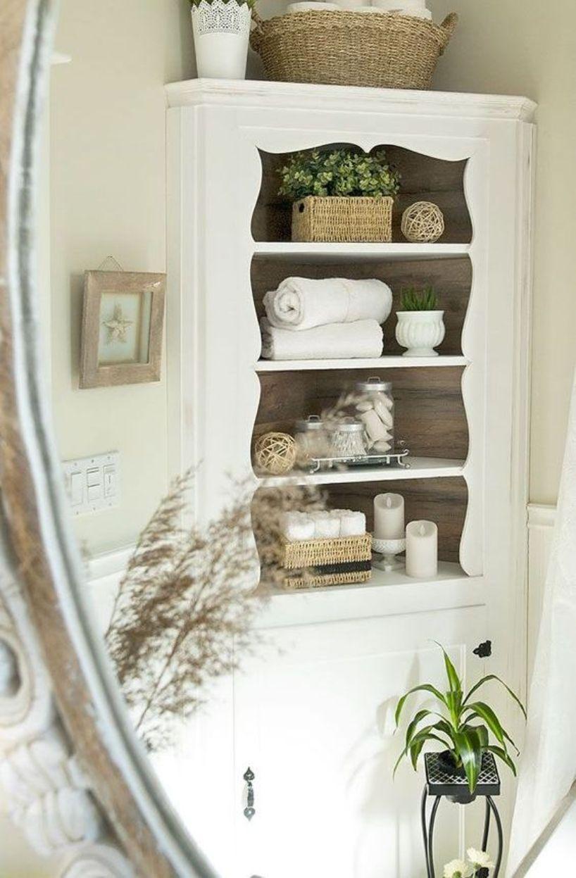 An Elegant Corner Cabinet