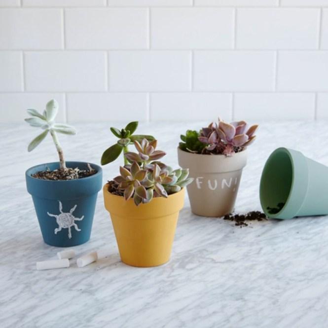 Chalkboard Pots