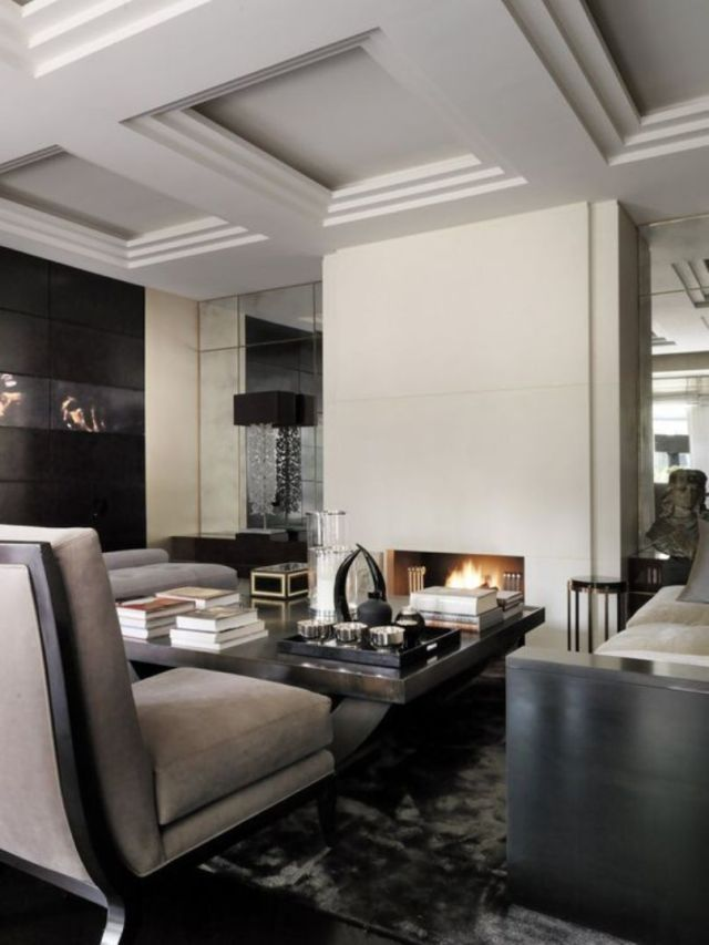 Luxurious Masculine Living Room