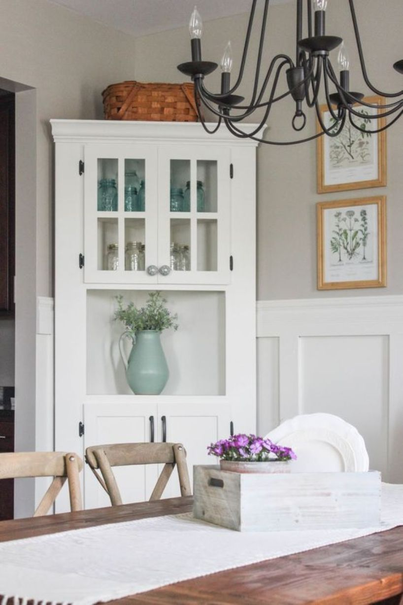 8 Corner Cabinets To Squeeze Maximum Of Your Space - Talkdecor