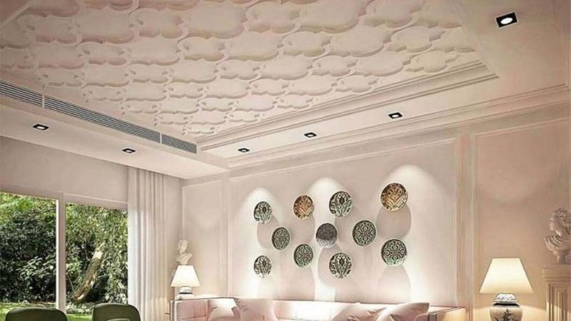 20 Mesmerizing Ceiling Ideas with Some Pattern and Lighting to Beautify Your Home Interior Design