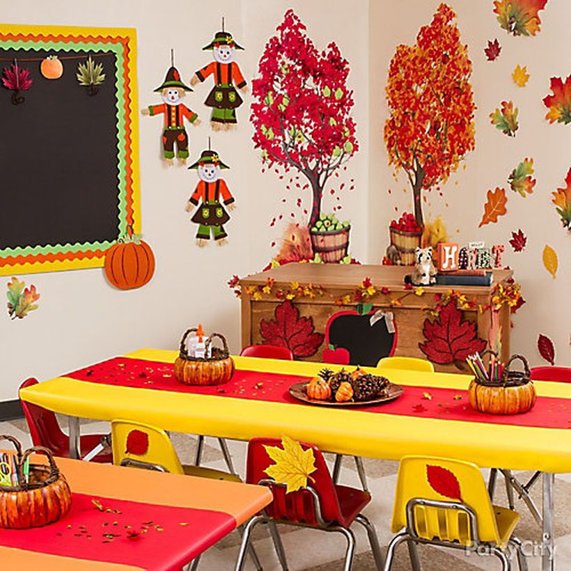 30 Fall Classroom Decoration Ideas to Bring the Spirit of ...