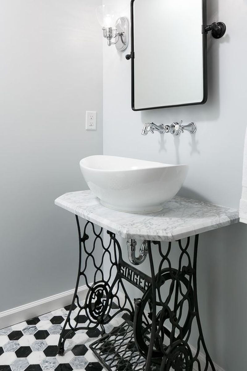5 Creative Bathroom Vanity Ideas from Repurposed Materials