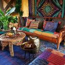 20 Impressive Living Room Design with Boho Style