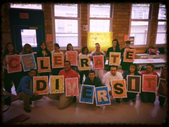 Celebrating diversity at James Monroe High School