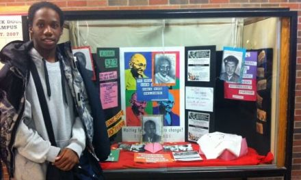 Douglass and Wilson students flocking to Non-Violent Clubs supported by the Gandhi Institute