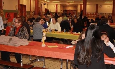 For some, a Thanksgiving first at the Rochester International Academy