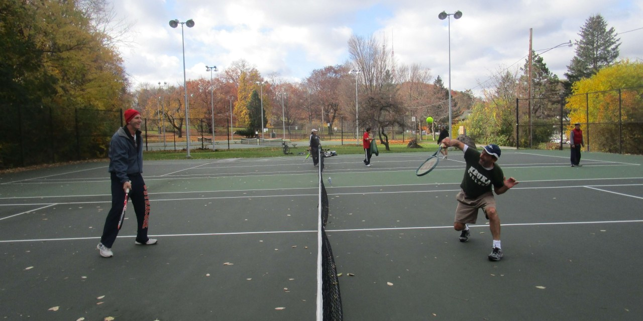 Diehards and the Cobb's Hill Tennis Courts