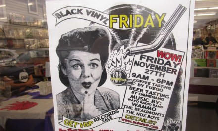 Forget EastplaceMarketview when you can Get Hip at Black Vinyl Friday at Bop Shop Records