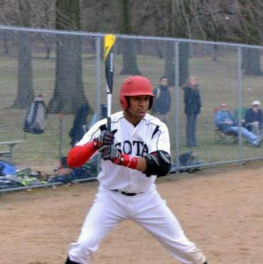 Kenny-batting cobbs hill