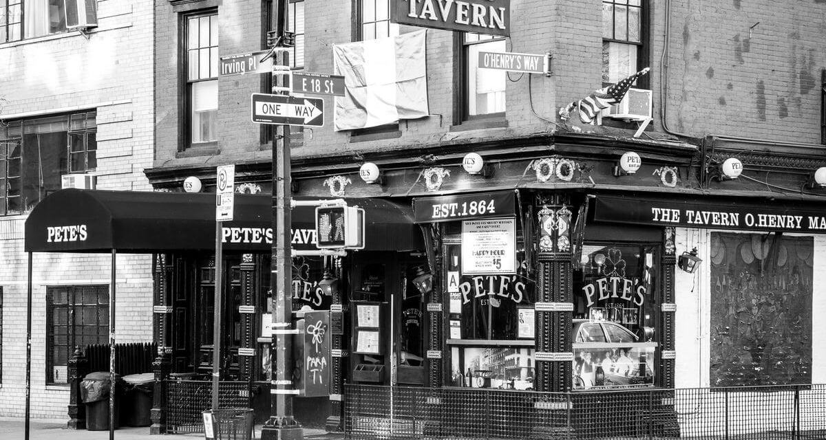 """""""Mr. Crane's Vivid Story"""" (scenes 1 – 20(of 24), premier of """"Black and Blue on San Juan Hill"""" at Pete's Tavern, early winter 1898"""