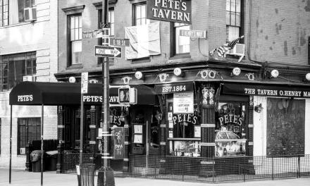 """Mr. Crane's Vivid Story"" (scenes 1 – 20(of 24), premier of ""Black and Blue on San Juan Hill"" at Pete's Tavern, early winter 1898"
