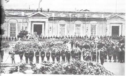 """Mr. Crane's Vivid Story"" (scenes 1 – 12, the Spanish surrender)"