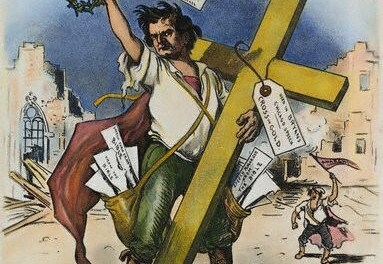 "Would Cruz crucify himself on a ""cross of gold?"""