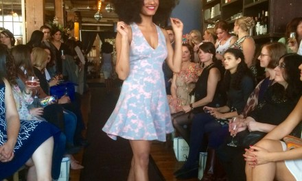 First Rochester flowers of Spring bloom at HAWT fashion show