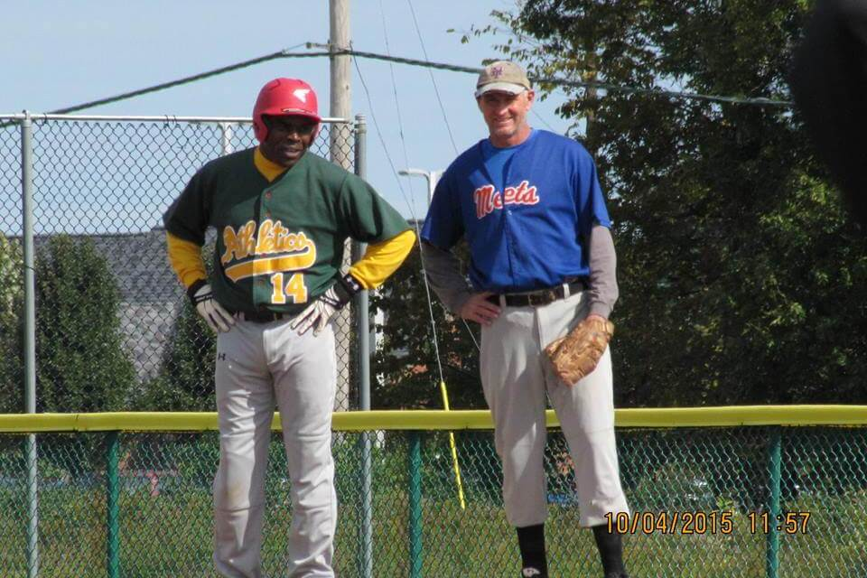 """Don't go soft, play hardball!"" The Rochester Men's Adult Baseball League needs a few good men."