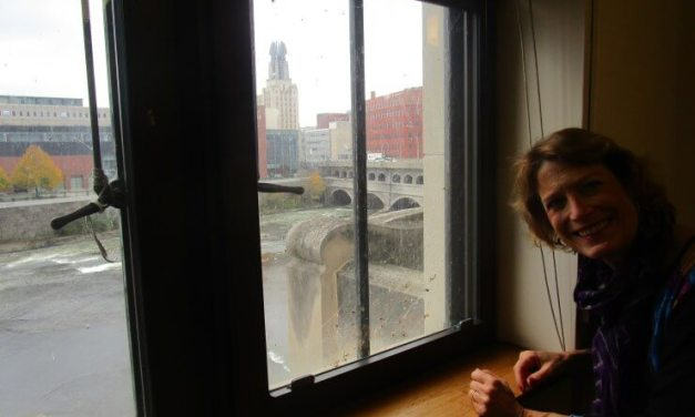 """""""Looking at the Genesee River"""" by Kitty Jospé"""