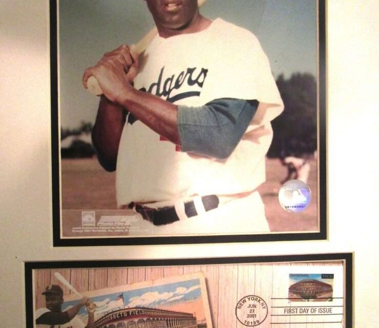 70 years ago today when Jackie Robinson broke the color line at Red Wings Stadium