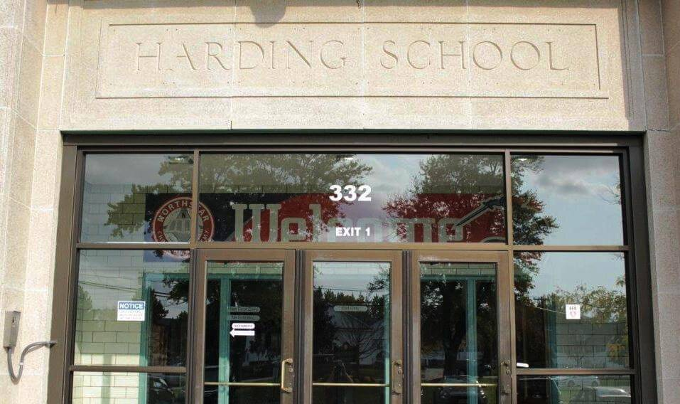 October 21st, 1920 in Rochester and Governor Harding's return to normalcy. And the school named after him.
