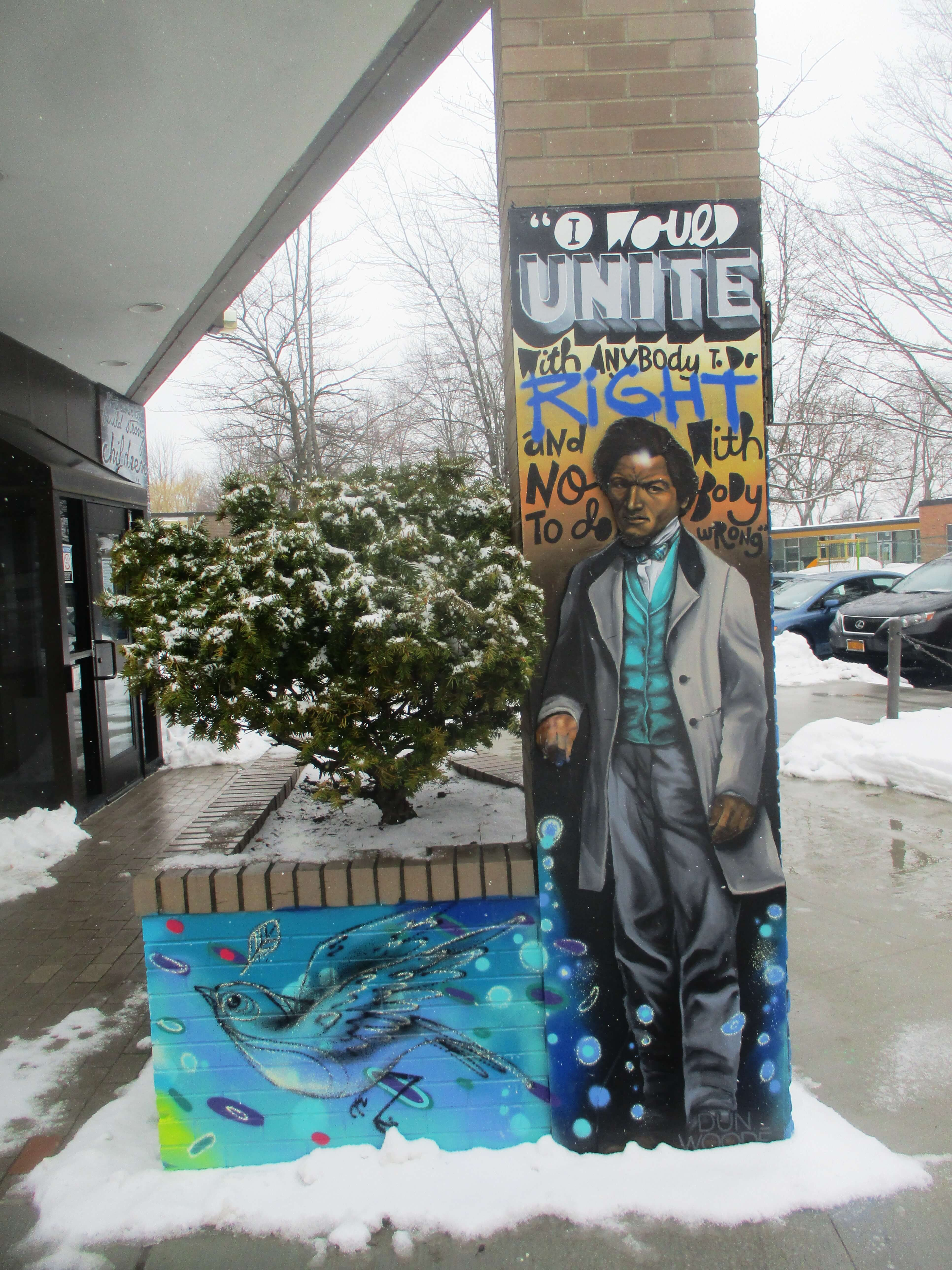 Fred Douglass Gets His Due Talker Of The Town