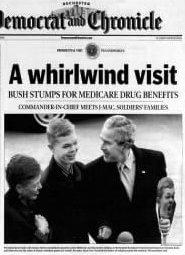 front page bush
