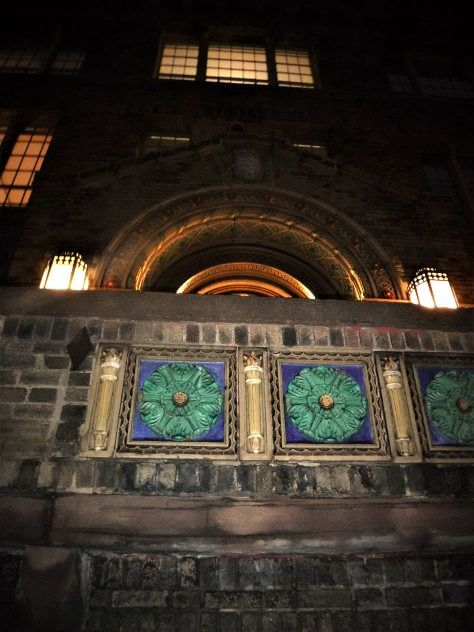 The Bevier Memorial Building at Night: Another Dimension of Claude Bragdon