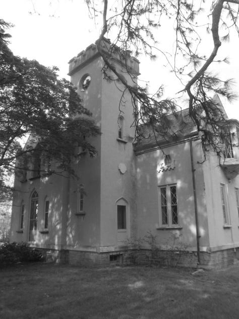 The Nursery Office: An A.J. Davis Gothic Revival Masterpiece