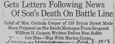 From Central Library of Rochester and Monroe County Historic Scrapbooks Collection, Obituary Notices Of Rochester Soldiers.