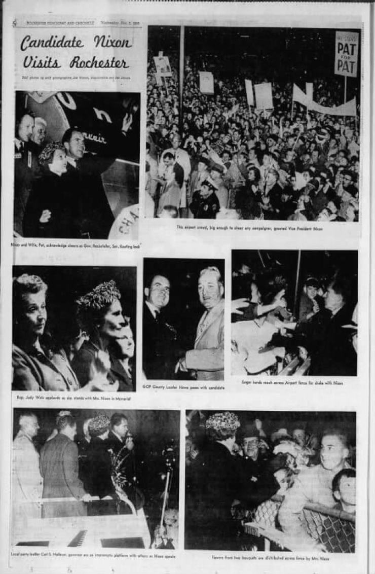 Democrat and Chronicle, 02 Nov 1960, Wed, METROPOLITAN EDITION, Page 6