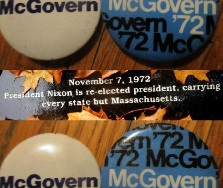 In '72 when McGovern campaigned in Rochester before Nixon's landslide victory