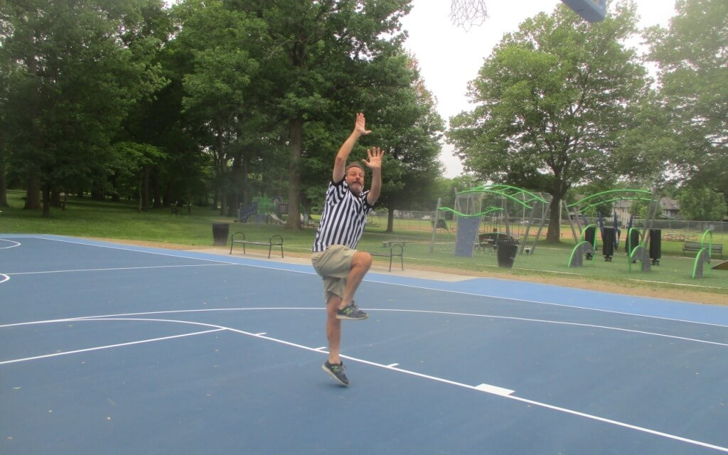 Adding the very first shot at the Tony Boler Courts, 9:07 a.m., to the Cobb's Hill series