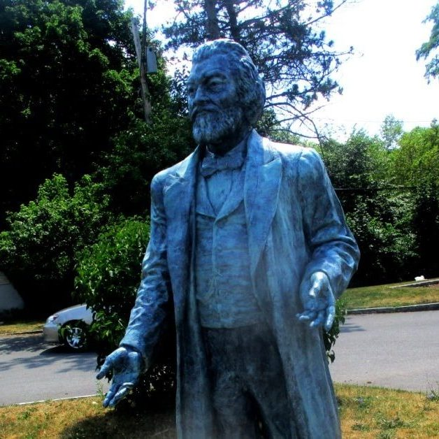 A Frederick Douglass statue and the naming of the Anna Murray-Douglass Academy