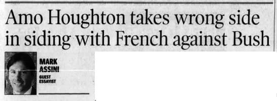 Rochester Democrat and Chronicle, 13 Nov 2003