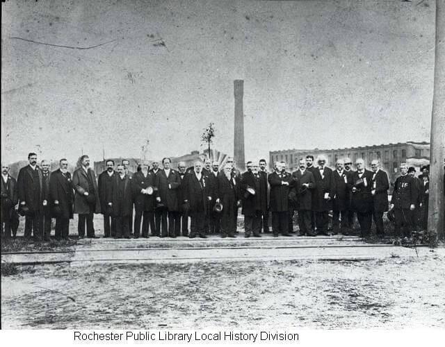 At Kodak Park, Rochester, NY, Fifth from the right, Frederick Douglas, 5.30.92