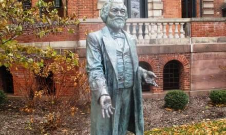 Frederick Douglass' Alexander Street home commemorated; Seward Seminary marker still missing.