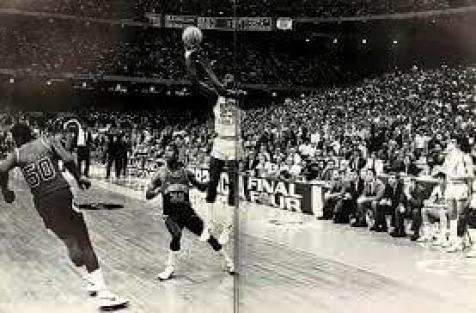 Michael Jordan Takes the Winning Shot in the 1982 NCAA Basketball Championship Game, University of North Carolina at Chapel Hill From the 1982 edition of the Yackety Yack, UNC-Chapel Hill's yearbook (pp. 301-302).