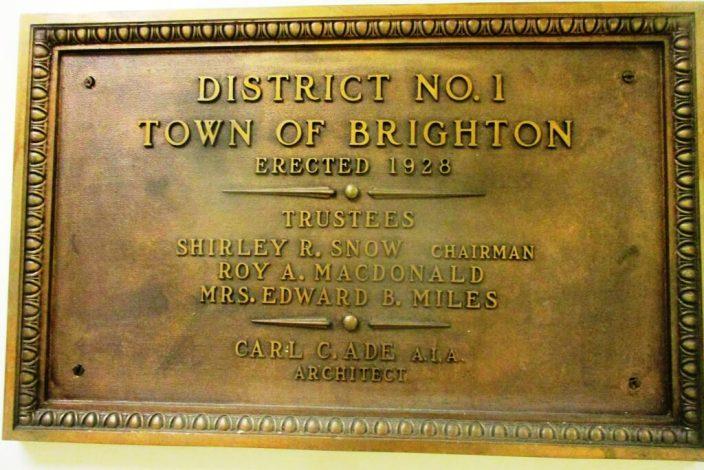 b. plaque